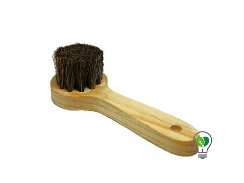 Cepillo de Pelo de Caballo Facial Natural