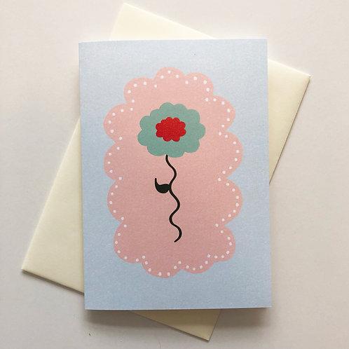 Wiggle Daisy Card