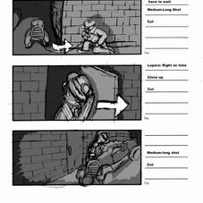 The Lupara Storyboard - Part 3 of 3