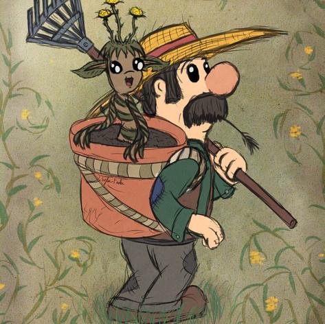 Farmer and Sapling