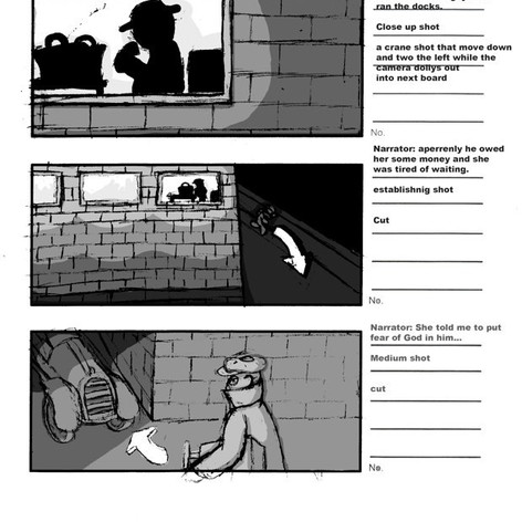 The Lupara Storyboard - Part 1 of 3
