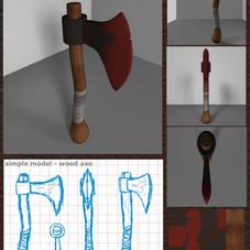 Horror Hatchet 3D Model