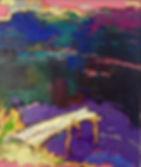 Footbridge / Natalia Korf-Ivanuyk / oil on canvas / 50x60 / 2014