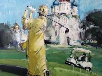 Leonora Yanko and Lera Litvinova open exhibition «ChessNO» of artworks by Yuriy Shapoval