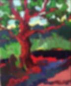 Apple tree / Natalia Korf-Ivanuyk / oil on canvas / 40x50 / 2014