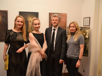 Exhibition Existimo. A record number of guests visited the Embassy