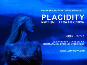 Lera Litvinova open Art Exhibition Placidity in Central House of the Artist