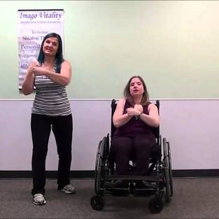 Seated cardio video