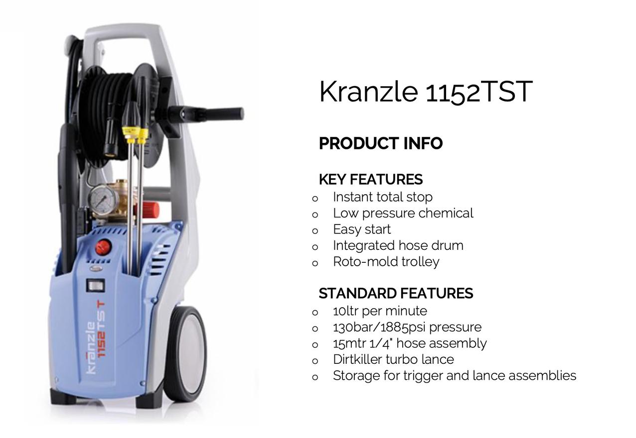 Kranzle 1152TST