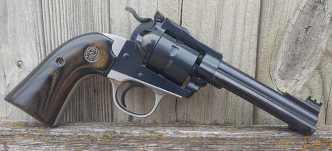 Bisley grip frame on customer's Ruger Single 10.