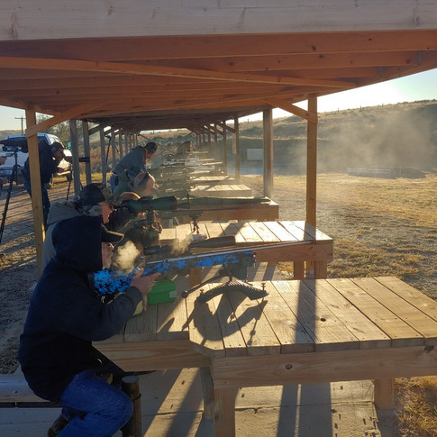 Long range shoot 10/21/18.  A little cool in the morning.