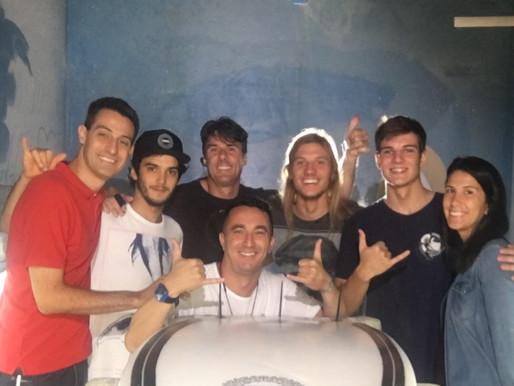 Figue Diel no programa Esporte Espetacular - Rede Globo