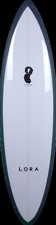 11 Deck Single Fin by Lora prancha de surf