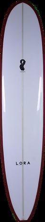 10 Deck Red Carpet by Lora longboard prancha de surf