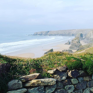 The beautiful Bedruthan Steps