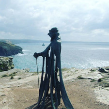 The stunning Tintagel Castle