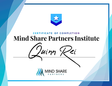 Mind Share Partners Institute - Certific