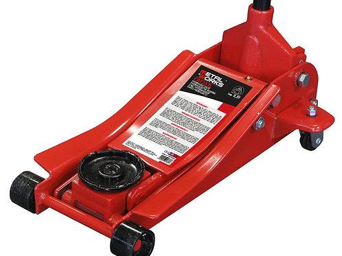 Cric rouleurhydraulique sur roues d'une capacité de 2,5 tonnes