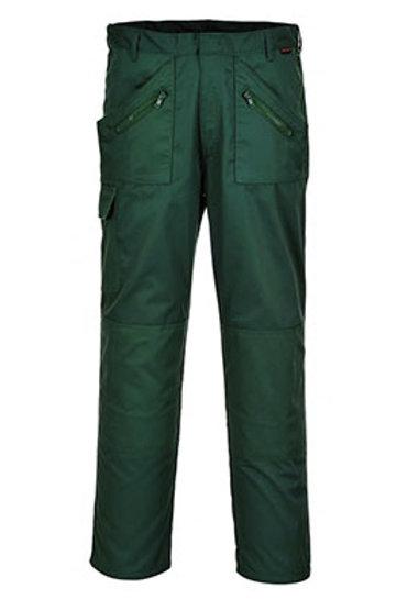 Pantalon Action (Vert bouteille ou vert olive)