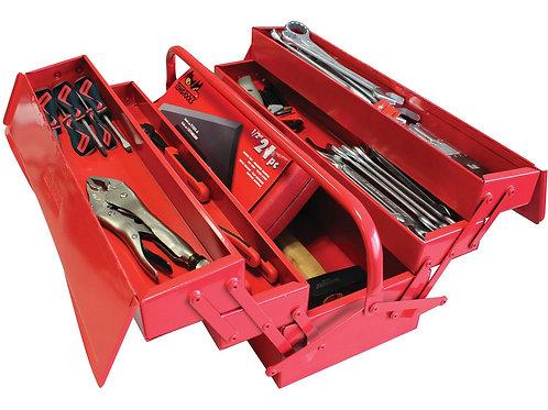 Coffre à outils complet 85 pièces