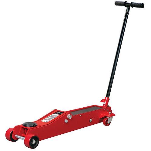 Cric rouleur hydraulique 3 tonnes, extra long et bas pour voitures sportives
