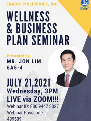 Wellness and Business Plan Seminar