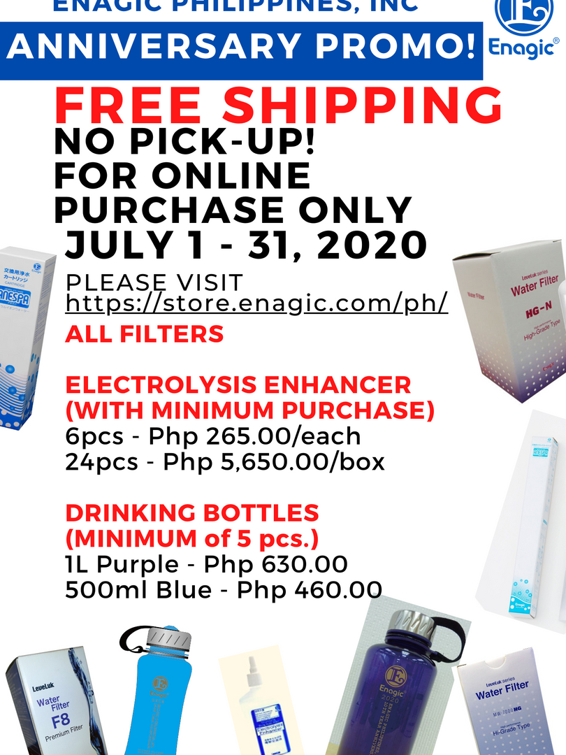 Enagic PH 10th Year Anniversary Promo