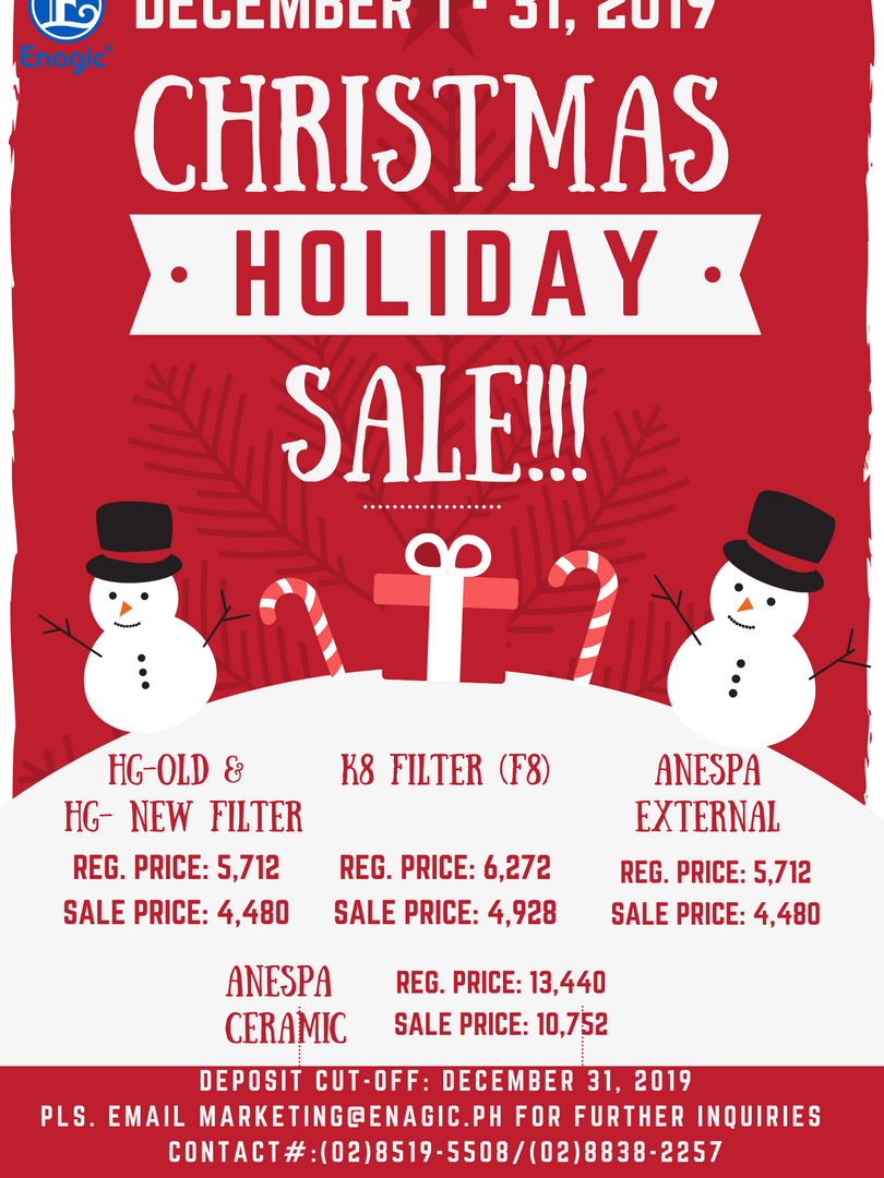 Christmas Holiday Sale