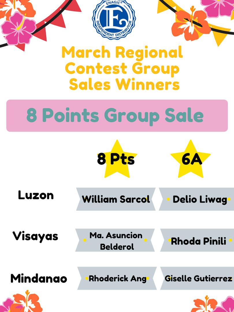 8 Pts Group Sale