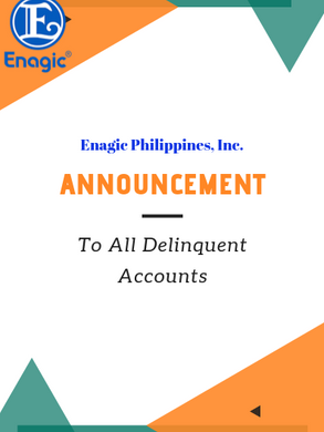Announcement: To All Delinquent Accounts
