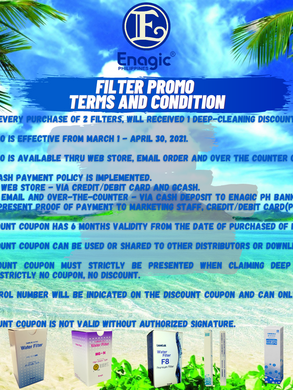 Terms and Condition Filter Promo