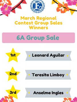 6A Group Sale Winner