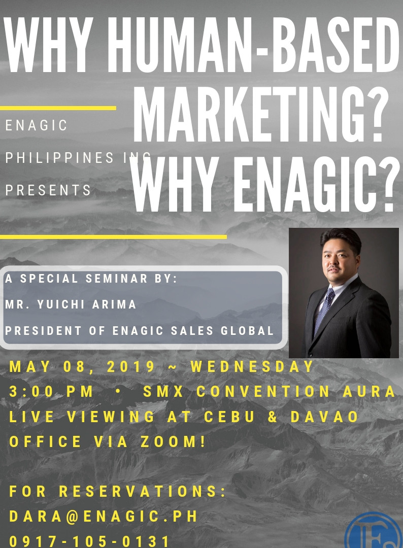 Why Human-Based Marketing? Why Enagic?
