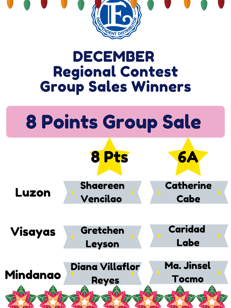 8 Points Group Sale