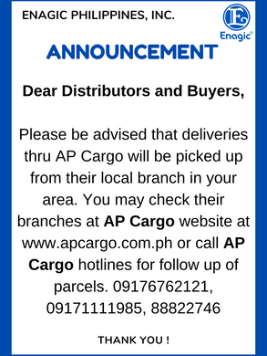 AP Cargo Delivery Announcement