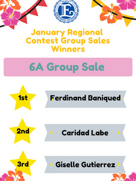 January 6A Group Sales Winner