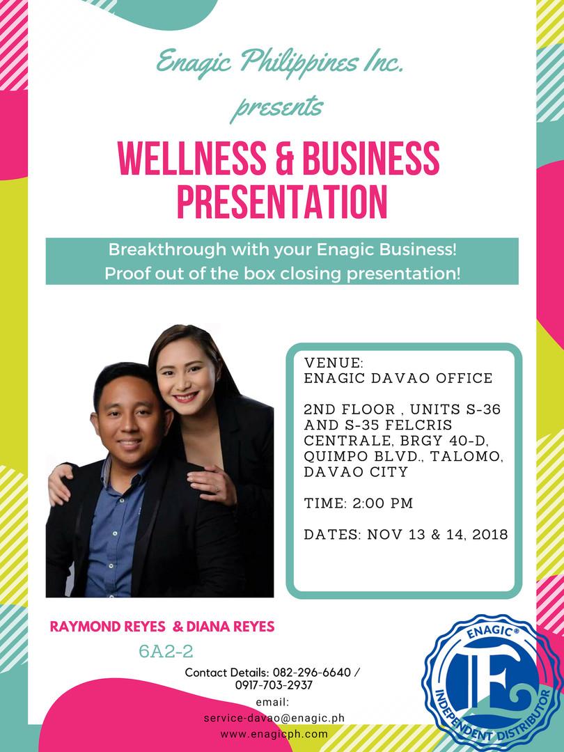 Upcoming Wellness Seminars in Davao Service & Training Center