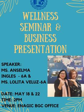 Wellness and Business Presentation