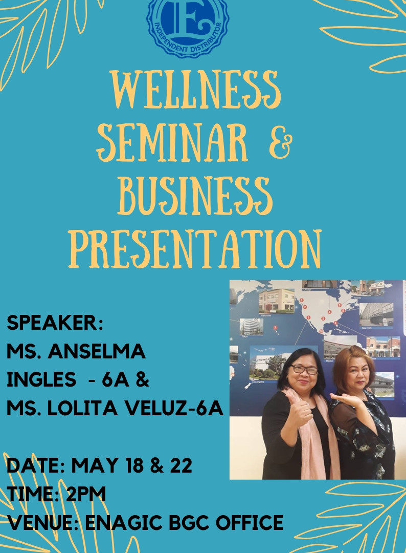 Wellness and Business Presentation