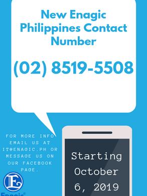 New Enagic Ph Contact Number