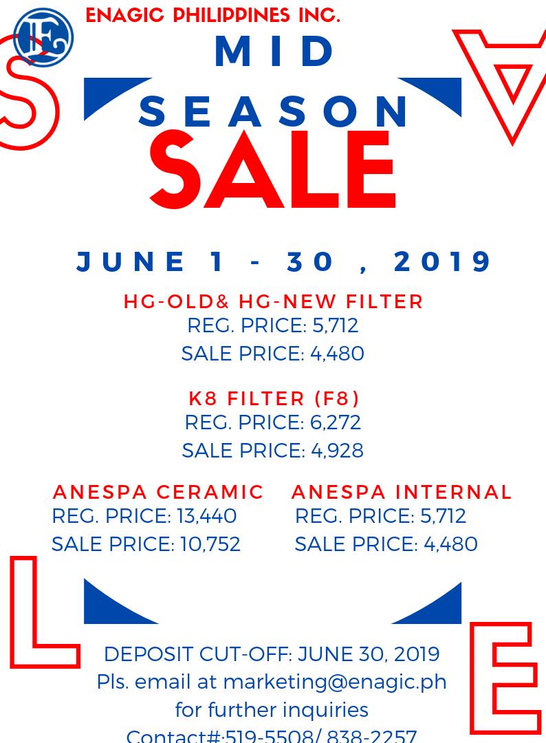 Mid Season Sale!!
