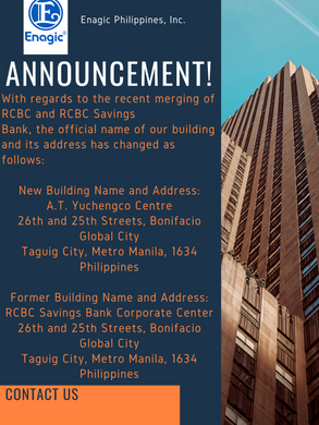 New Building Name and Address