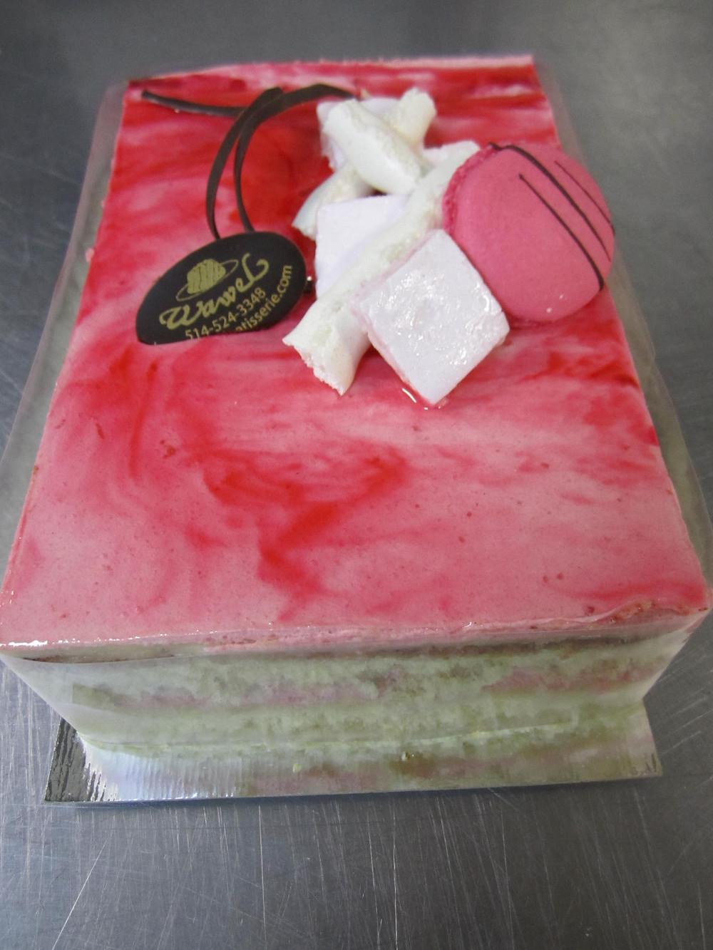 Gâteau Fraise - Citron