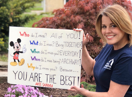 Archway Upper School Teachers Send Positive Message to Students