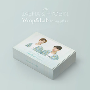 Wrap&Lab×NTB(ジェハ&ヒョビン)『Wrap&Lab BEAUTY GIFT SET』一般販売決定のお知らせ!