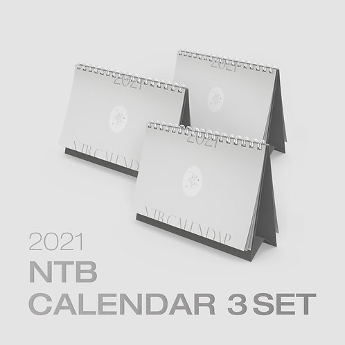 NTB 2021 OFFICIAL CALENDAR PACK 3セット