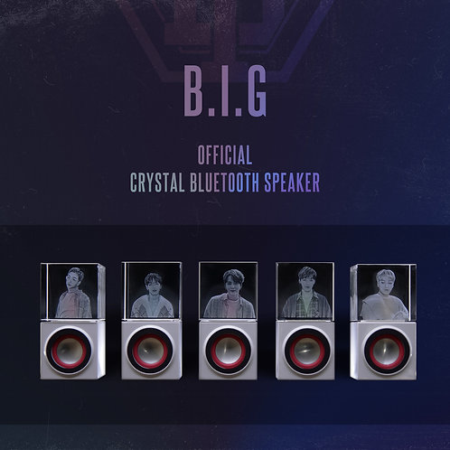 B.I.G OFFICIAL CRYSTAL BLUETOOTH SPEAKER