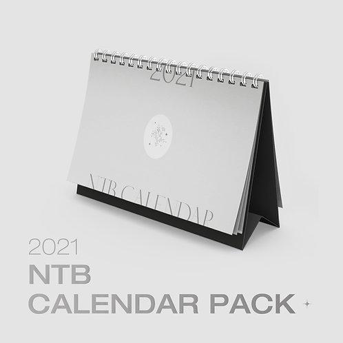 NTB 2021 OFFICIAL CALENDAR PACK