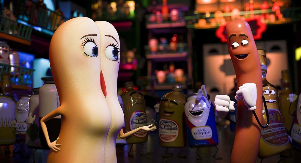 Kuva Sausage Party -elokuvasta