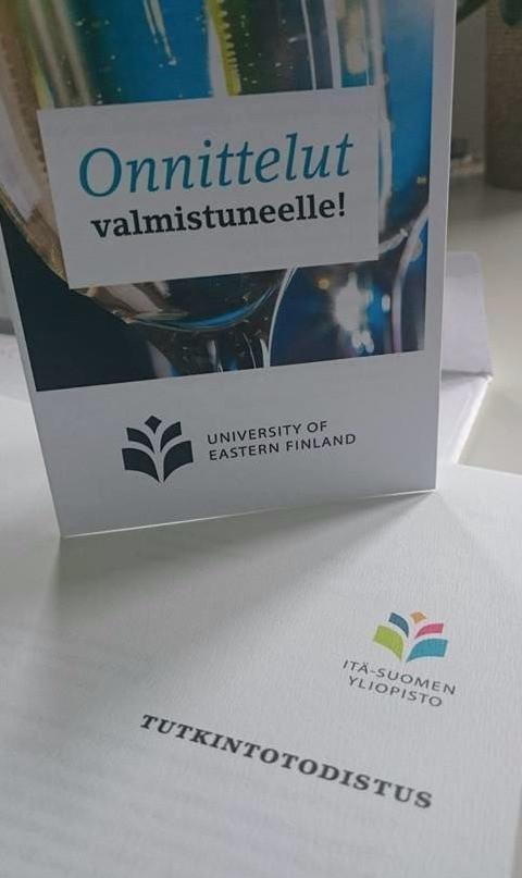 Kokkausta ja molekyylibiologiaa – Lotta Pelkonen valmistui ravitsemusterapeutiksi